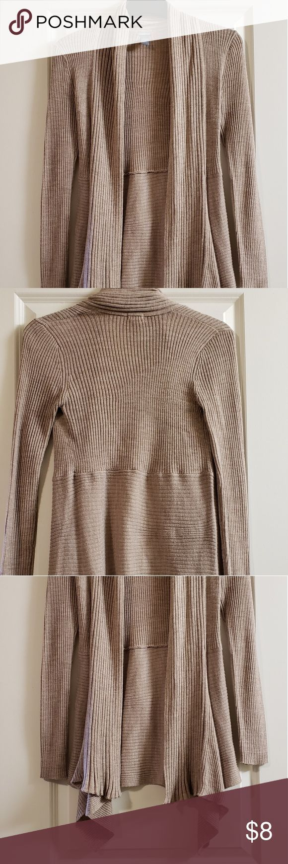 Charlotte Russe Tan Sweater Perfect lightweight sweater for work or professional…