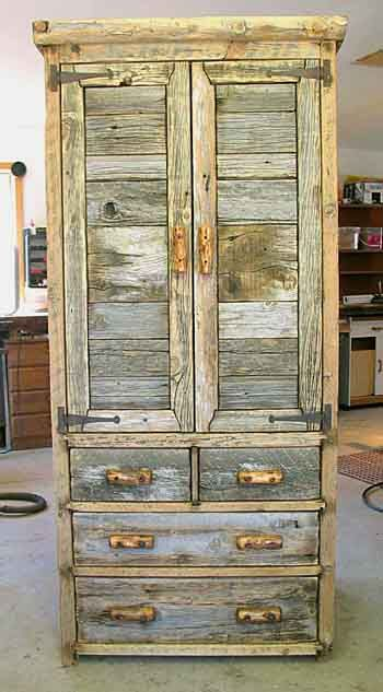 Rustic+Barnwood+Crafts | Rustic Barnwood Armoires, Entertainment Centers, and Dressers - custom ...