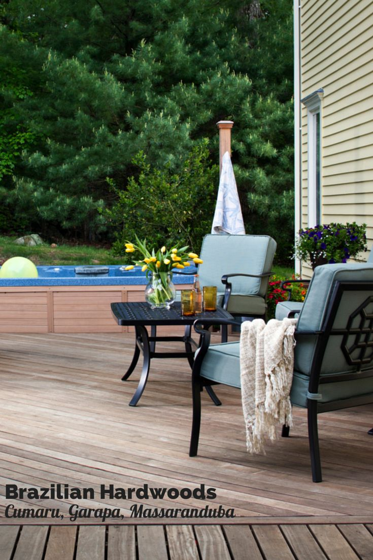 In St. Louis, Tigerwood and Ipe are popular hardwood decking materials; however, three other Brazilian hardwoods are worth a mention too.