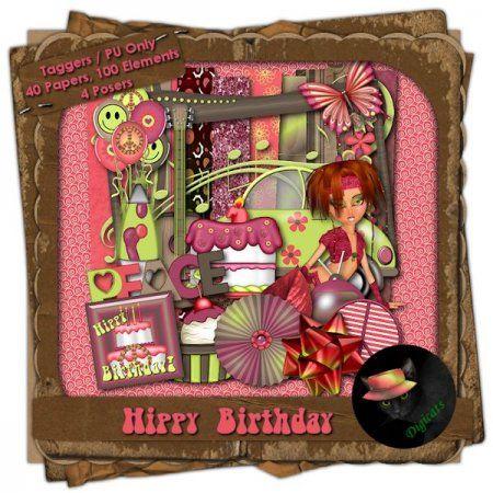 Hippy Birthday (Taggers) W/Bonus Add-on