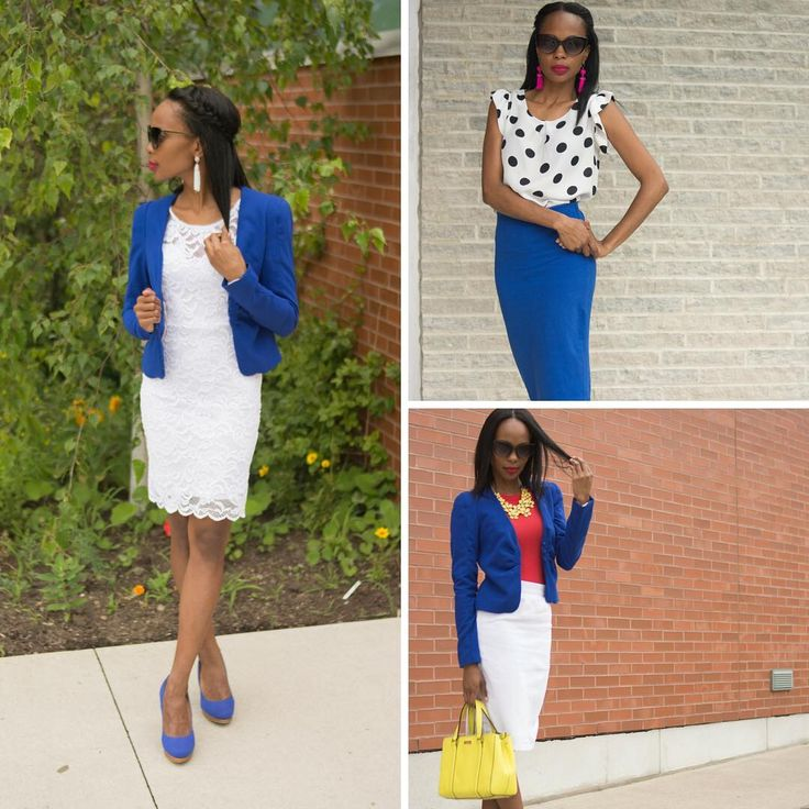 Last in the cobalt challenge. It was a lot of fun!   #makaroonsbymak . Fashion and Style by Mak
