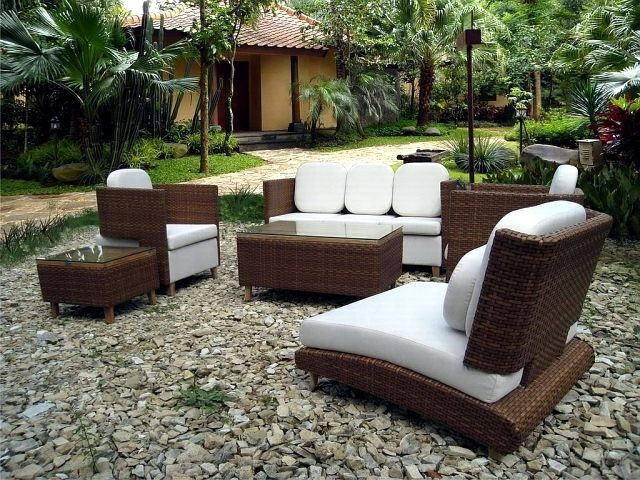 poly rattan garden furniture on trend cheap durable and easy to clean