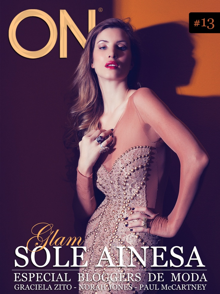 ON MAG #13 - Mayo - @SoleAinesa por Chino Toccalino