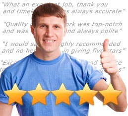 Get ratings and feedback comments from your customers - good ratings help you win more and more work