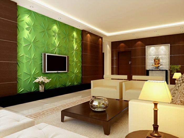 Die Besten D Tv Wand Ideen Auf Pinterest Tv Falsche Wand - Wohnzimmer einrichten 3d