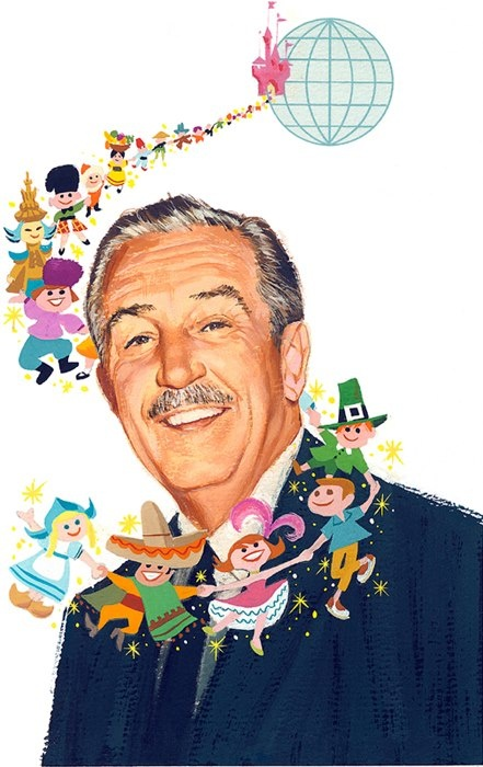 The final design for the Walt Disney tribute stamp in 1968. During the first 10 days that the Walt Disney stamp was on sale, throughout the United States, more than 150 million copies were sold!