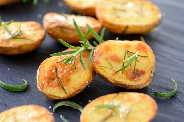 Agnese Italian Recipes: Tuscan Roasted Potatoes : Original italian recipe