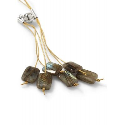 A Charmer of Happiness – a pendant of labradorite