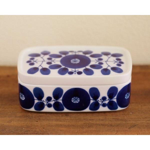 白山陶器 ブルーム バターケース ギフトボックス入り HAKUSAN JAPAN - butter dish (BLOOM)