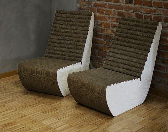 Carboard Furniture By Elena Madejska   Fancy Deco.com