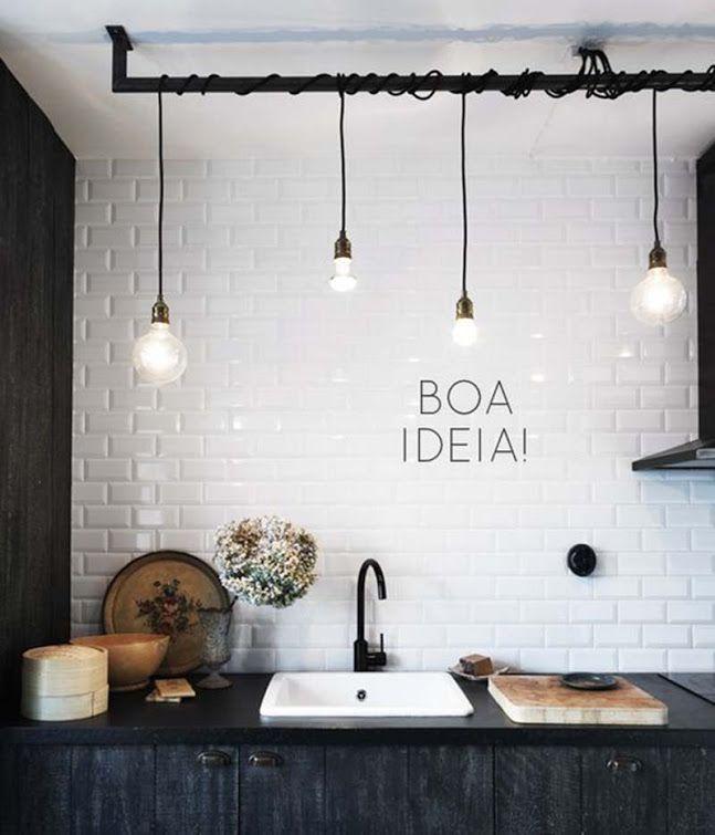 Iluminação cozinha