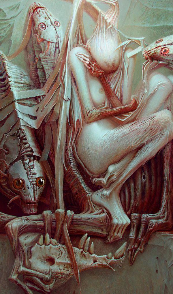 834 best Macabre art images on Pinterest | Alien alien ...