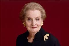 """Serving from 1997 to 2001, Madeleine K. Albright was the 64th Secretary of State of the United States—and the first woman to hold that position. Currently, Albright serves as a chair of Albright Stonebridge Group and chair and principal of Albright Capital Management LLC, an investment advisory company focused on emerging markets. She also has written a new book, """"Prague Winter: A Personal Story of Remembrance and War, 1937-1948,"""" which sheds light on earlier events that helped shaped her…"""