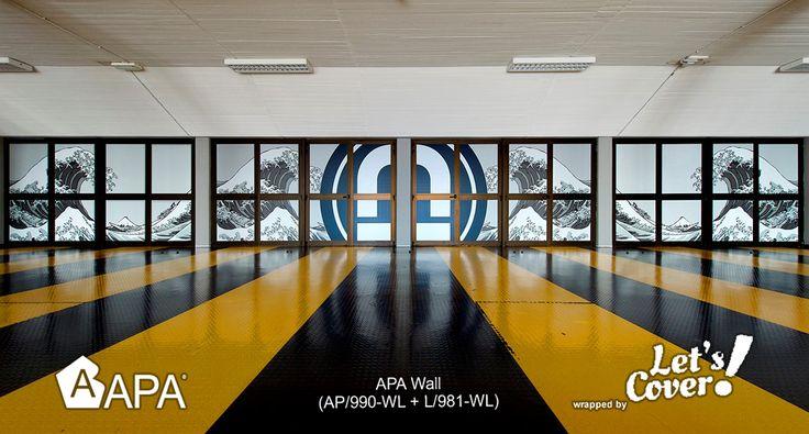 APA Wall (AP/990-WL + L/981-WL) Film lucido per stampe grande formato da applicare su pareti e muri anche irregolari. Adesivo micro-canalizzato. Resistenza al fuoco B-S2-D0. APA Wall (AP/990-WL + L/981-WL) Gloss Film for large-sized printed decoration to apply on walls even irregular. Micro-channeled adhesive. Fire resistance B-S2-D0. #selfadhesive #apastickers #apafilms #apafolie #apavinyl #interiordesign #apawall #digitalprint #ilw #ilovewrapping #apainside