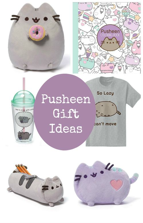 Check out these adorable Pusheen Gift Ideas! They're all cute Christmas presents Cat Lovers will adore!