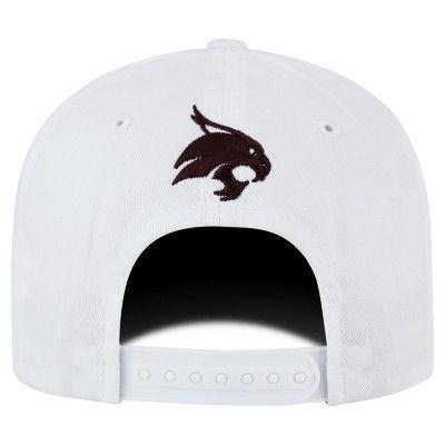 Baseball Hats NCAA Texas State Bobcats White, Men's