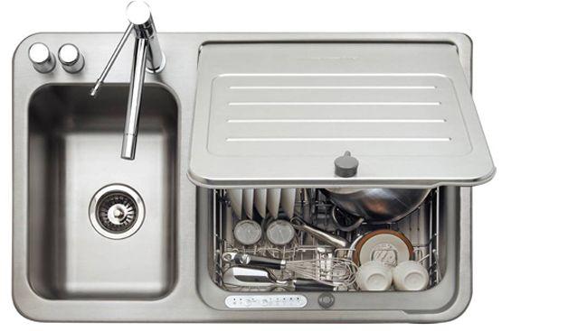 "KitchenAid Briva 42"" In Sink Dishwasher at Abt"