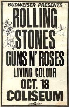 Rolling Stones, G'n'R