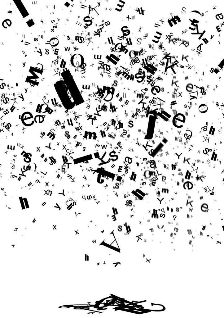 'Letters Falling.' 2008