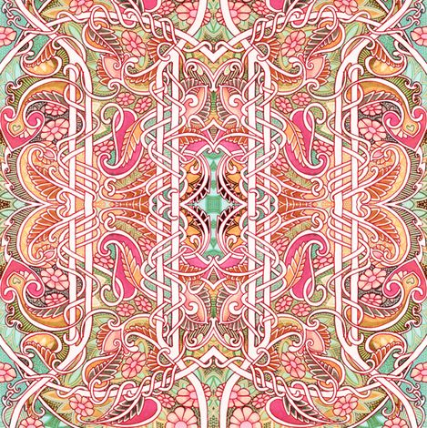 That Paisley Summer fabric by edsel2084 on Spoonflower - custom fabric