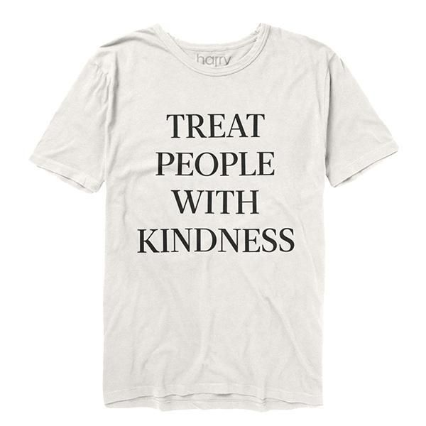b11710a03df3 Treat People With Kindness Tee (White)