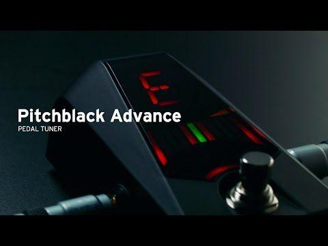 KORG Pitchblack Advance | The ultimate pedal tuner - YouTube