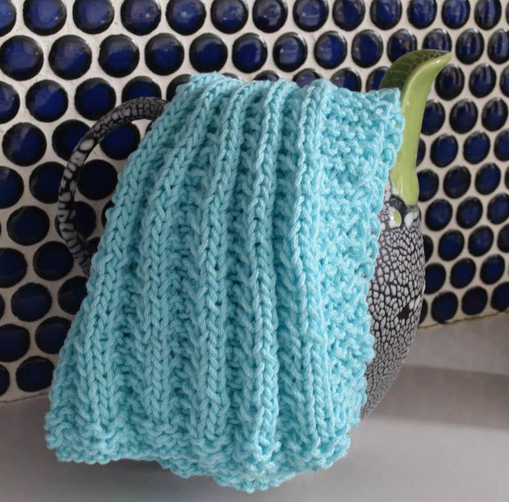 Knitting Ribbing Variations : Best images about knit dishcloth patterns on pinterest