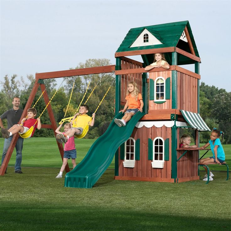 Outdoor Playhouses Toy : Best images about kid s outdoor playhouses toys on