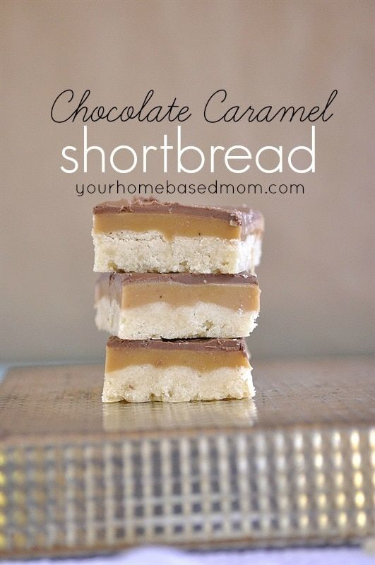 This Chocolate Caramel Shortbread is nothing short of amazing!!