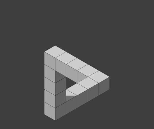 Mira cómo gira y se conecta el triángulo… | 22 GIFs de ilusiones ópticas que harán que te sientas drogado