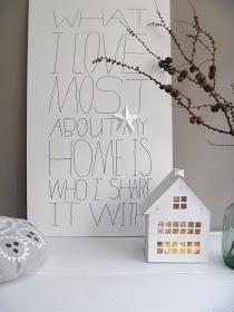 x4duros.com: DIY: Escribir una frase en un gran tablero y.. a decorar