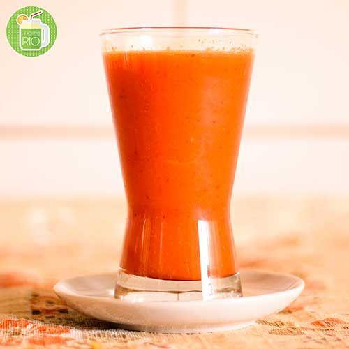 Suco de Acerola Laranja Tangerina e Cenoura