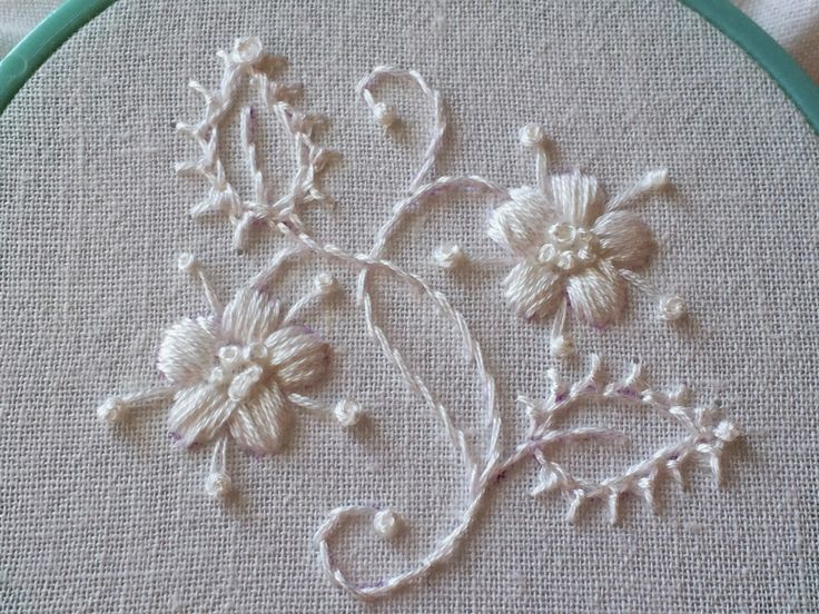 feeling stitchy: Adventures in Whitework: Mountmellick Stitch