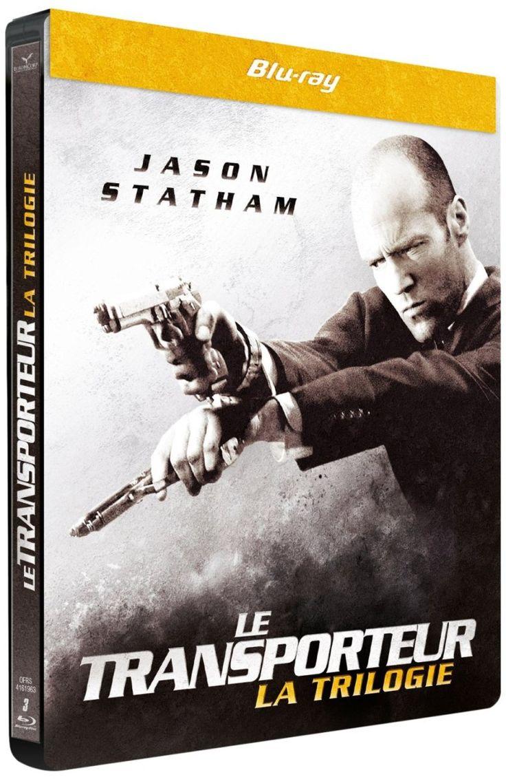 Le transporteur, la trilogie en coffret blu-ray métal édition limitée: Dvd Blu Ray Films, Movies, My Movies, Actu Dvd Blu Ray