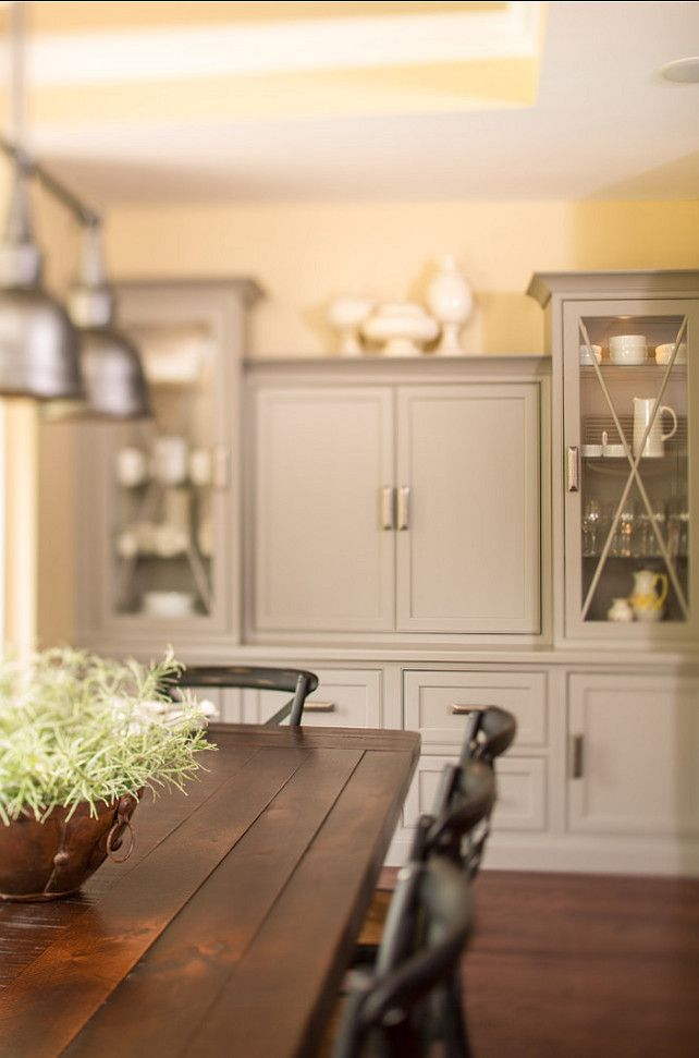 Sherwin williams dovetail gray sw 7018 cabinet paint color for Sherwin williams cabinet paint