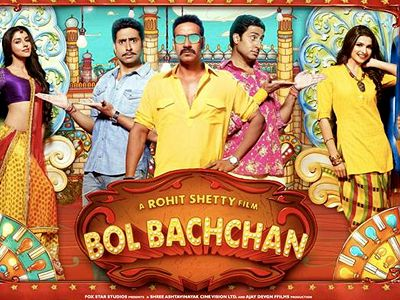 Rohit's Bol Bachchan fails to tickle the funny bone!