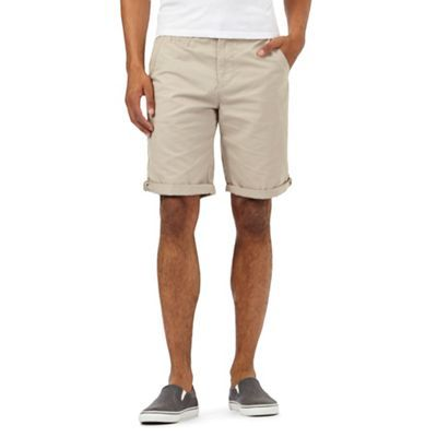 Red Herring Beige chino shorts | Debenhams