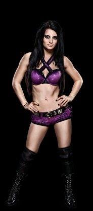 WWE Diva Paige inspiration for Emma's ringware