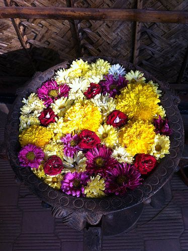bowl of flowers By Asha DC india