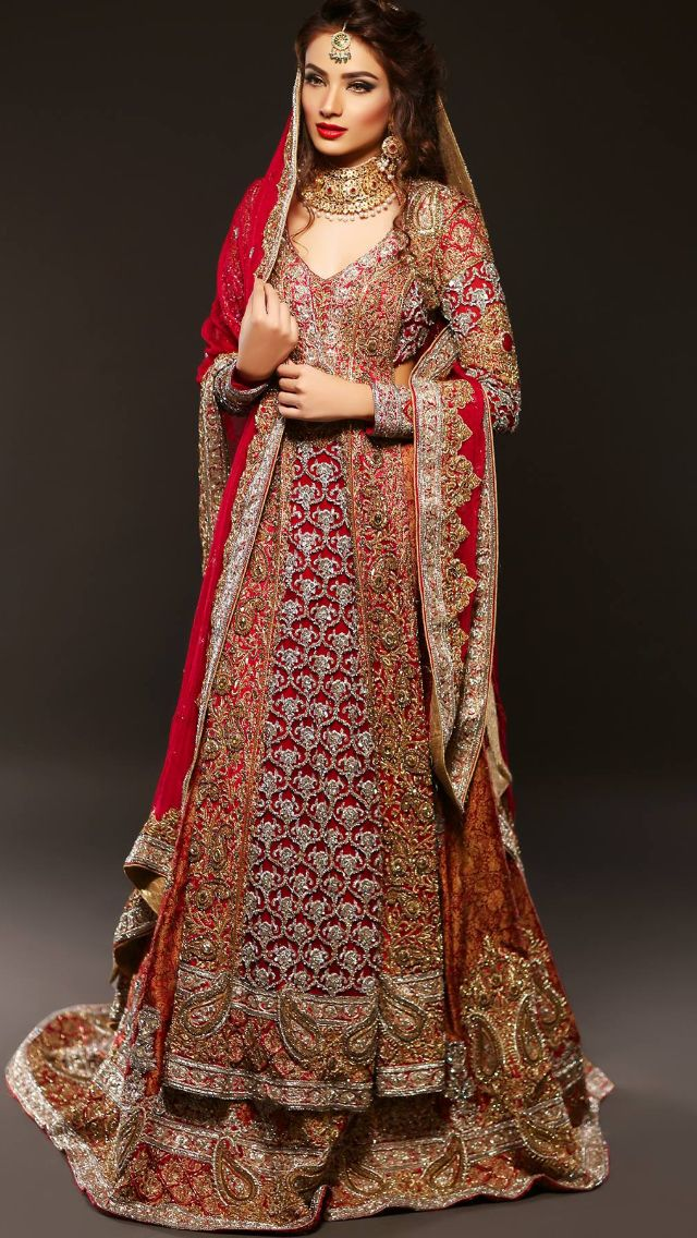 Honey Waqar #Pakistani #Bridals @CremeDeModa