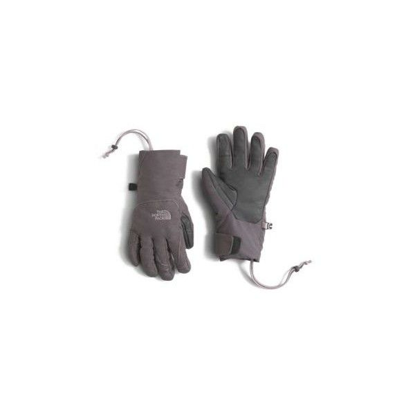 The North Face Women's Guardian ETIP Gloves (69 NZD) ❤ liked on Polyvore featuring accessories, gloves, rabbt grey, grey gloves, the north face gloves, gray gloves, short gloves and ski gloves