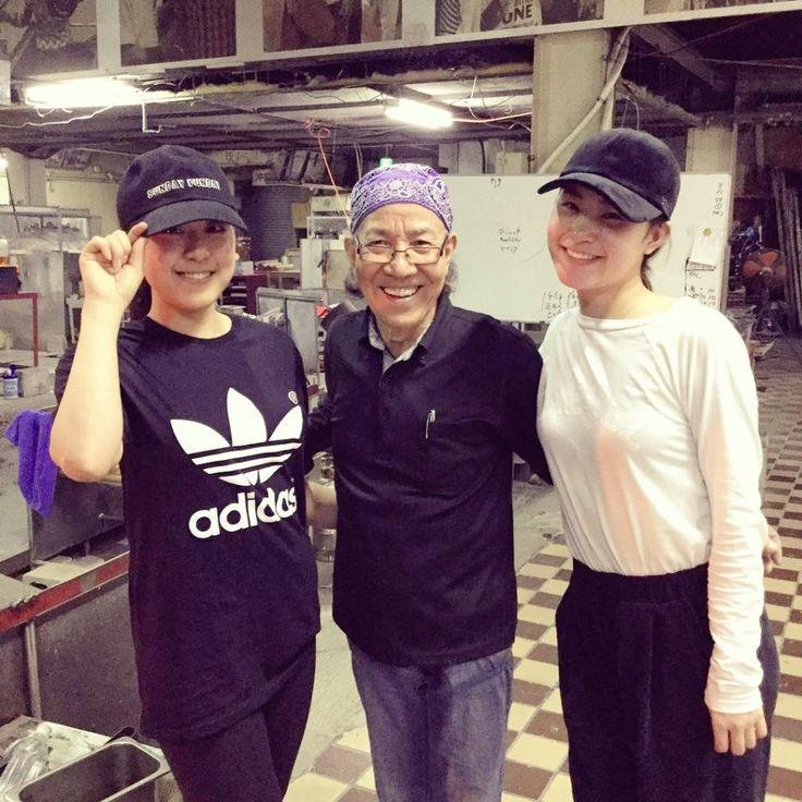 With Kanako Murakami in Okinawa
