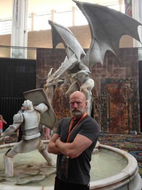 """Times Graham McTavish Looked More Fierce Than An Actual Dragon : Episode Seventeen."""