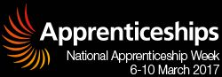 National Apprenticeship Week 2017   #NAW2017  The 10th National Apprenticeship Week will bring together employers and apprentices from across England to celebrate the success of apprenticeships over the last decade and will seek to encourage even more people to choose apprenticeships as a fast-track to a great career.  https://nawevents.co.uk