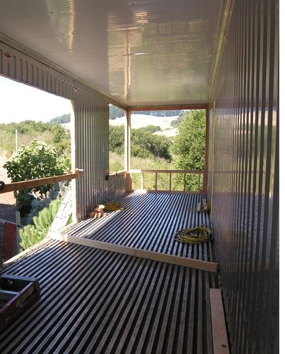 Cargo Container Homes Interiors | Boucher Grygier Shipping Container House « elegant eco design