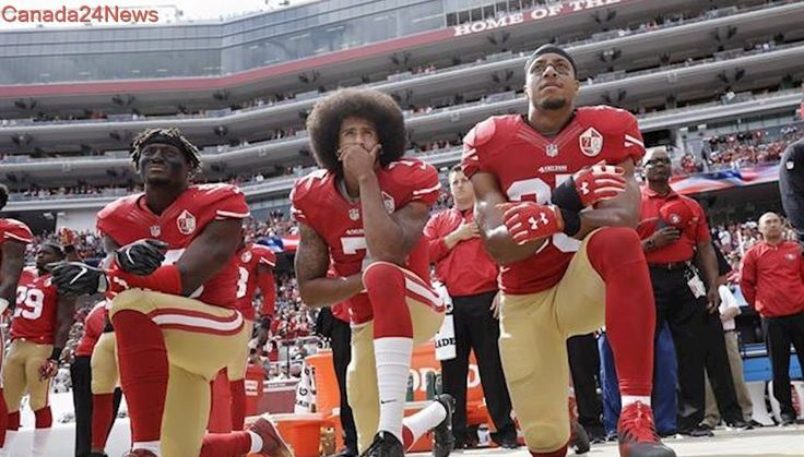 Black football players kicked off Houston high school team for protesting during national anthem