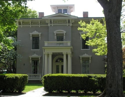 coite-hubbard-house - high st middletown ct - home of university's president