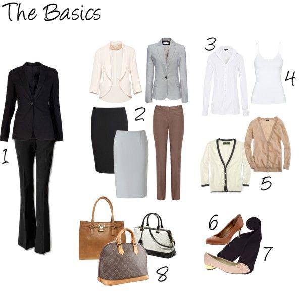Work wardrobe basics                                                                                                                                                                                 More