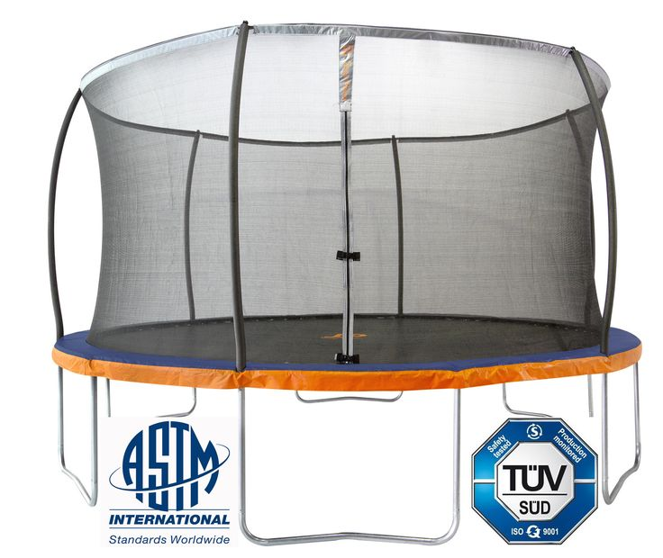 14 Ft Trampoline Safety Net Enclosure Combo