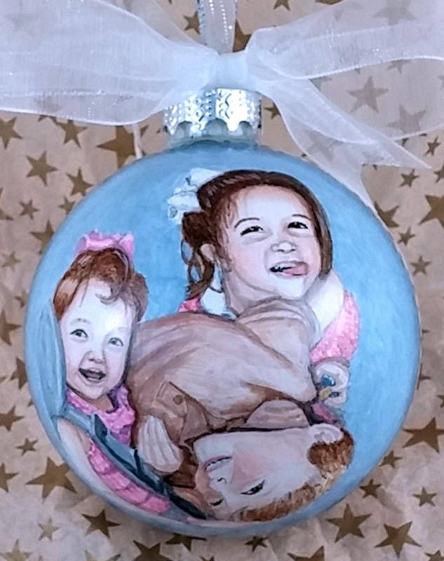 "https://flic.kr/p/PmRMoL | ""Say Cheese!"" Children's Portrait Ornament 